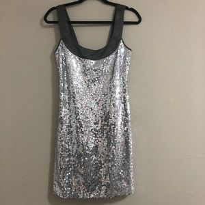 Sequin mini dress! Just in time for New Years!